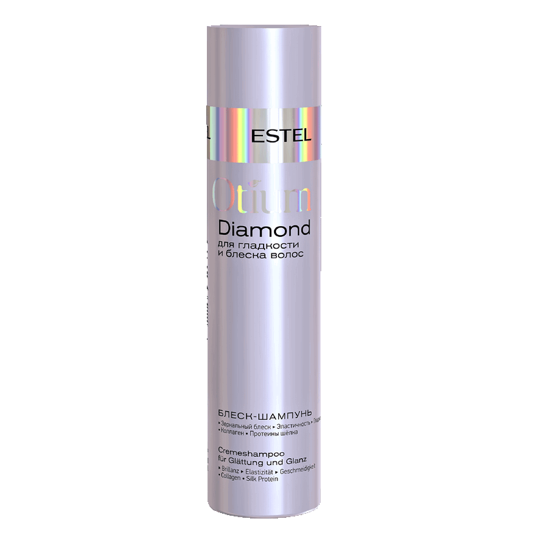 Estel Šampūnas-blizgesis plaukų glotnumui ir žvilgesiui OTIUM DIAMOND