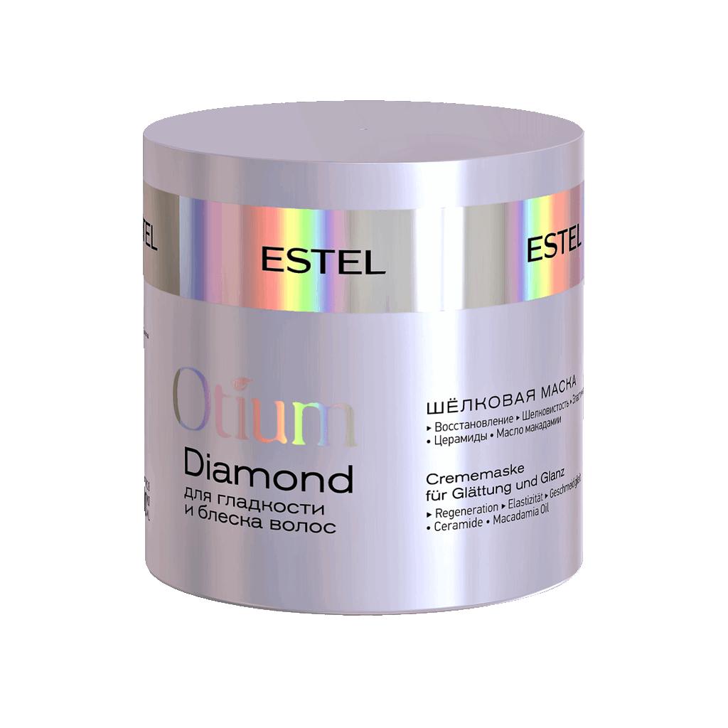 Estel Šilkinė kaukė plaukų glotnumui ir žvilgesiui OTIUM DIAMOND