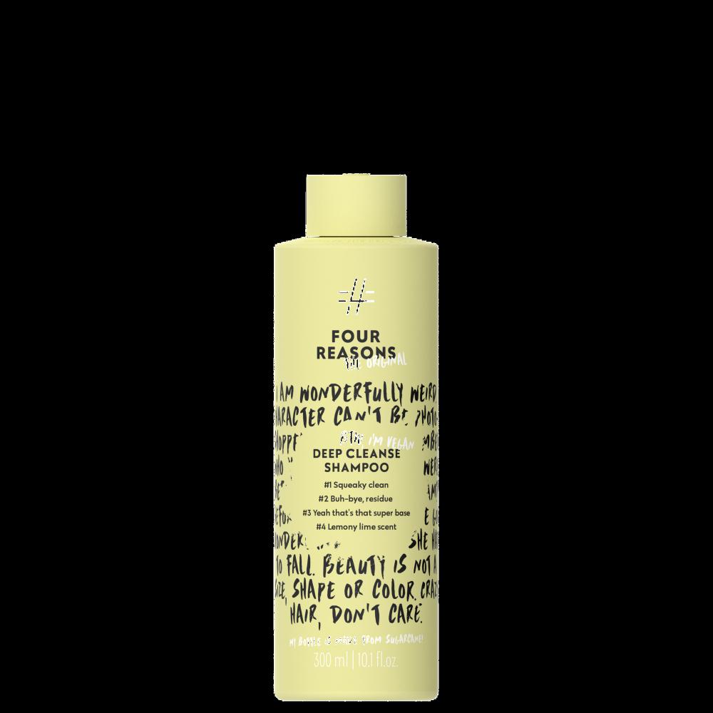 FOUR REASONS ORIGINAL Deep Cleanse giliai valantis šampūnas