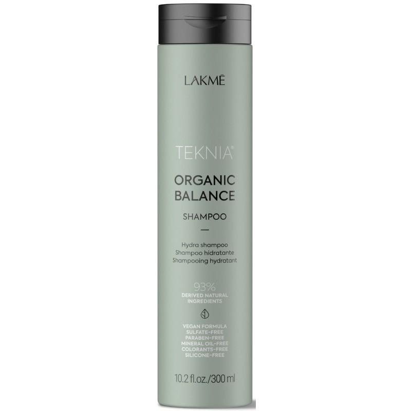 Drėkinamasis šampūnas plaukams Lakme Teknia Organic Balance Shampoo