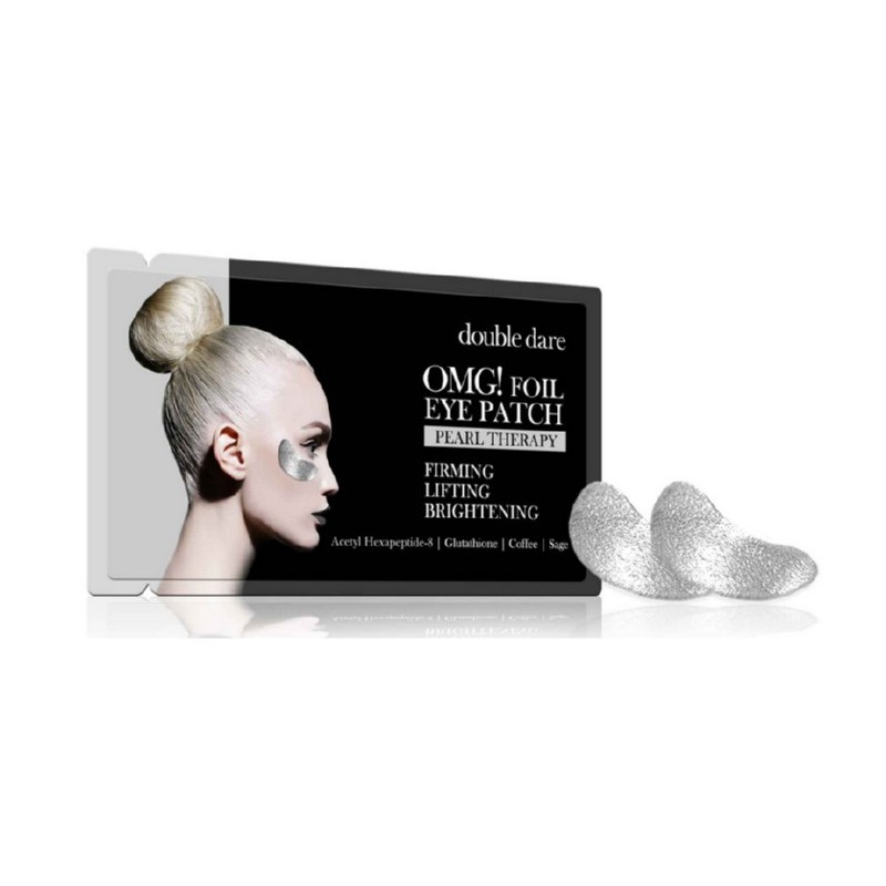 Paakių pagalvėlės OMG! Foil Eye Patch - Pearl Theraphy, OMG-EP-P