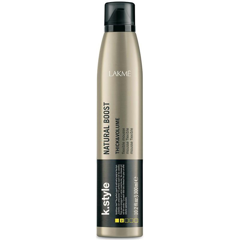 Putos plaukams Lakme k.style Natural Boost, suteikiančios purumo
