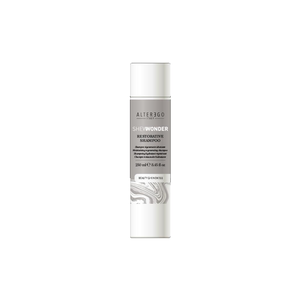 SHEWONDER regeneruojamasis-drėkinamasis plaukų šampūnas