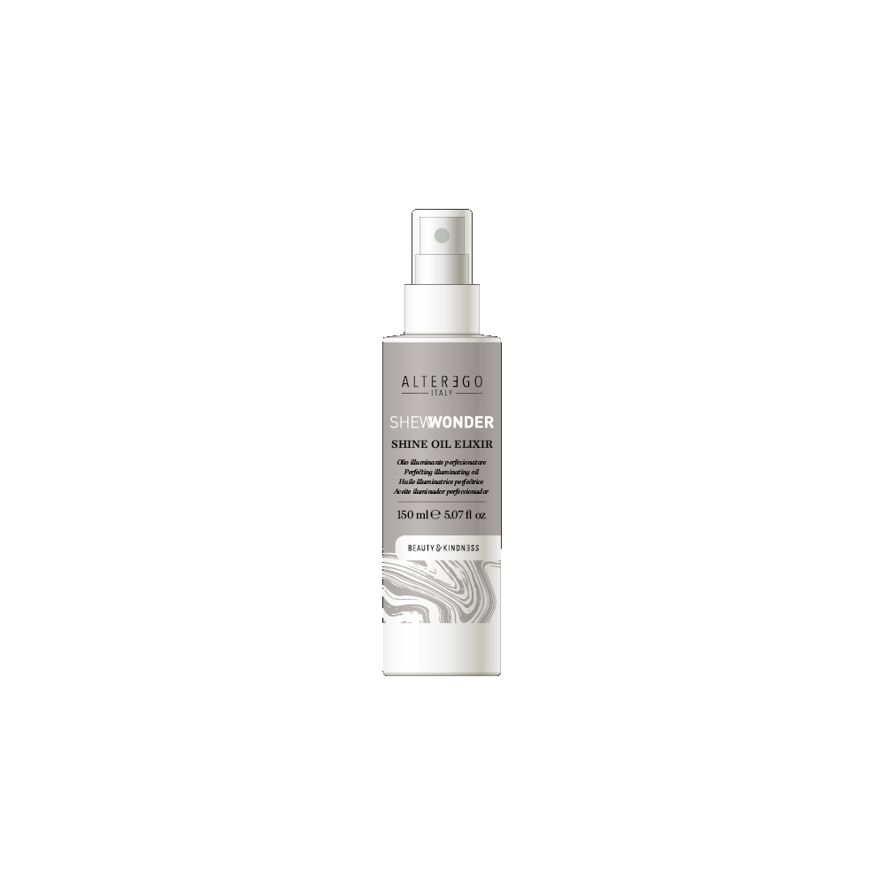 SHEWONDER purškiamas aliejinis plaukų eliksyras su žvilgesio efektu, nenuplaunamas, 150 ml
