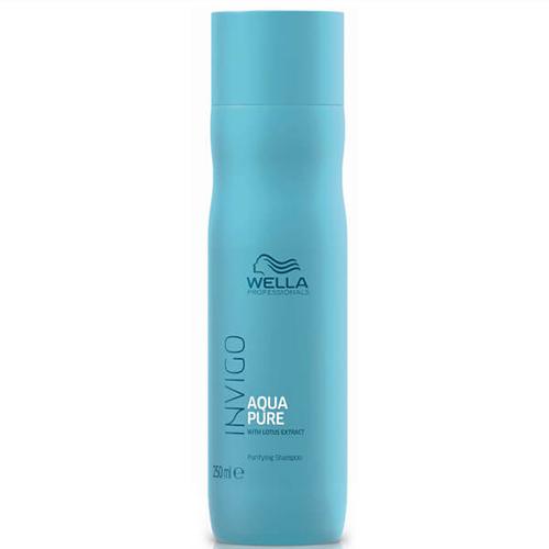 Wella Invigo Aqua Pure Valomasis šampūnas