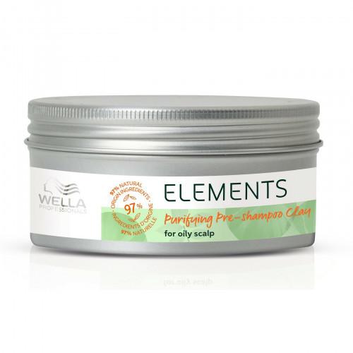 Wella Elements Pre Shampoo Clay Valantis molis riebiai galvos odai 225ml